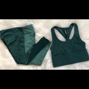 Girls size 5 active wear set